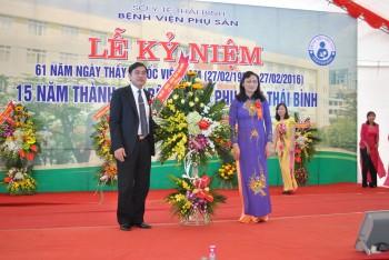 Bệnh viện Phụ sản Thái Bình kỷ niệm 15 năm thành lập