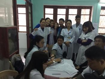 Bệnh viện Phụ sản tỉnh Thái Bình tham gia hiến máu nhân đạo đầu xuân 2017