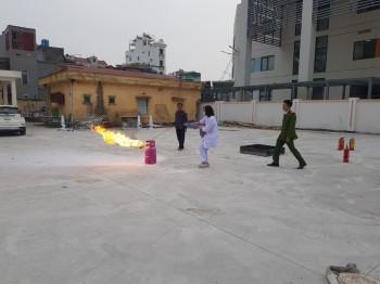 Tập huấn, bồi dưỡng nghiệp vụ phòng cháy chữa cháy năm 2020